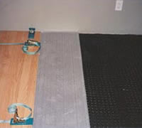 Photo of laminate flooring
